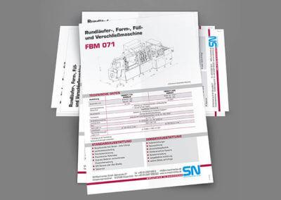 Flyer, 4-seitig, 4-farbig. Grafikdesign für Printmedien von vom hofe foto/design aus Gummersbach (NRW)