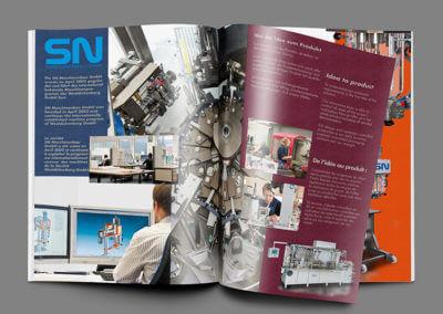 Prospekt, 16-seitig, 5-farbig. Grafikdesign für Printmedien von vom hofe foto/design aus Gummersbach (NRW)