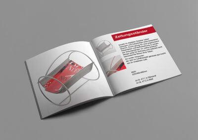 Prospekt, 8-seitig, 4-farbig. Grafikdesign für Printmedien von vom hofe foto/design aus Gummersbach (NRW)