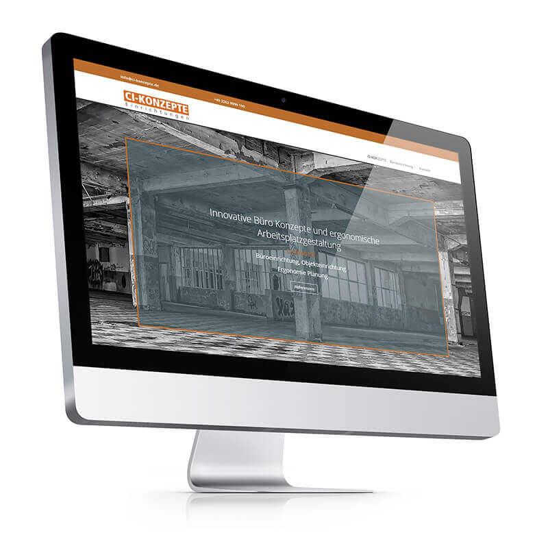 Webdesign vom hofe foto/design